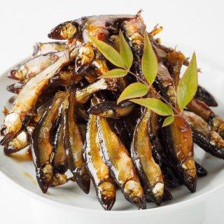小骨まで食べられるカルシウム豊富な甘辛旨煮「びわ湖産 小あゆの佃煮」
