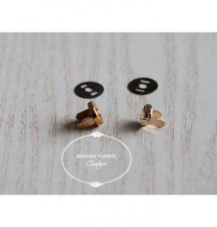 マグネット 8mm ゴールド(差し込み式)