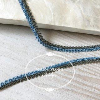 wカラー ブレード ブルー&グレー9�  1ロール(9m)