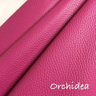 カルトナージュ用『シュリンク』         Leather 36×36�  Orchidea(濃いピンク)