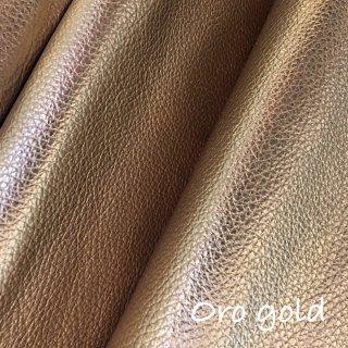 カルトナージュ用『シュリンク』         Leather 36×36�  OroGold(ゴールド)