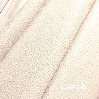 カルトナージュ用『シュリンク』         Leather 36×36�  Lamb(オフホワイトベージュ)