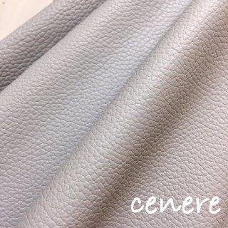 カルトナージュ用『シュリンク』         Leather 36×36�  Cenere(グレー)
