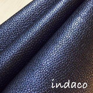 カルトナージュ用『シュリンク』         Leather 36×36�  Indaco(ネイビー)