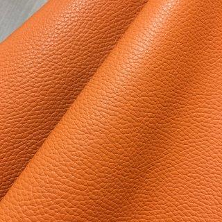 カルトナージュ用『シュリンク』         Leather 36×20�  orange(オレンジ)