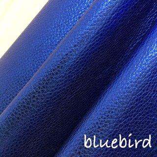 カルトナージュ用『シュリンク』         Leather 36×20�  Blue Bird(鮮やかラメブルー)