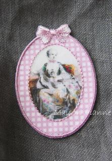 Paris Oval 貴婦人 Pink