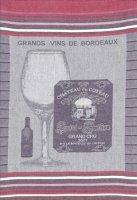 COUCKE Vin de Bordeaux キッチンクロス