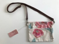 リナシータ サコッシュ 花刺繍