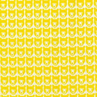 STINA YELLOW ファブリック150cm巾
