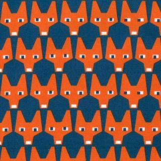 RUT NAVY ファブリック150cm巾