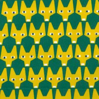 RUT GREEN ファブリック150cm巾