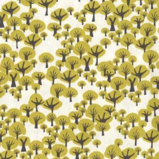 HILDA YELLOW ファブリック150cm巾
