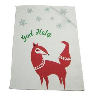 CHRISTMAS towel God Helg Fox