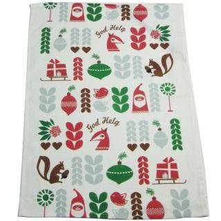 CHRISTMAS towel God Helg