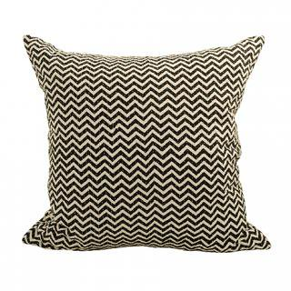 CUSHION COVER HILL 50×50� (Black/offwhite)