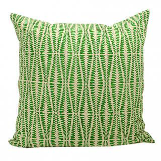 CUSHION COVER ORMBUNKE 50×50� (Green/offwhite)