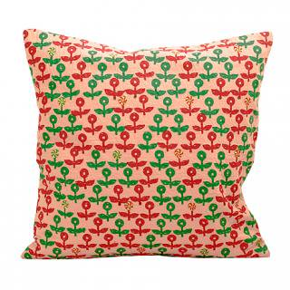 CUSHION COVER FLOWER 40×40�