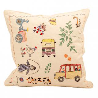 CUSHION COVER DHAKA LIFE 40×40�