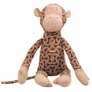 SOFT TOY MONKEY BROOMS