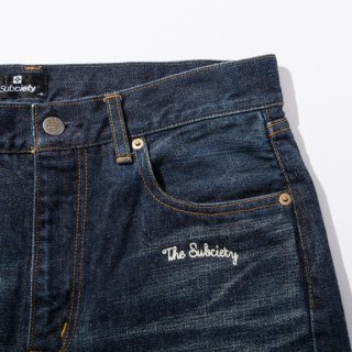 HARD WASH DENIM-BRAD-