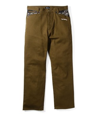 WORK PANTS-PAISLEY-