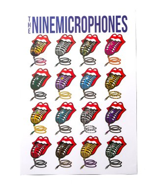 【予約】POSTER-Lips and Microphone-【12月入荷予定】