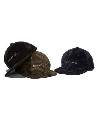 【予約】CORDUROY CAP【9月入荷予定】