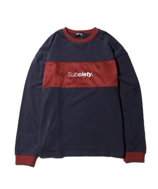SUEDE SWITCHED L/S