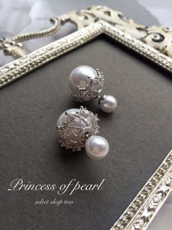 <img class='new_mark_img1' src='//img.shop-pro.jp/img/new/icons25.gif' style='border:none;display:inline;margin:0px;padding:0px;width:auto;' />princess of pearl ピアス(メール便100円発送可!同梱不可)