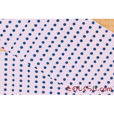 手拭い 豆絞り(糸目染) (てぬぐい まめしぼり)