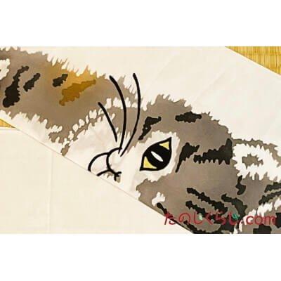 手拭い 猫 (てぬぐい ねこ)