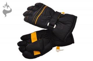 日栄産業 3670 キッズ 園児 5本指スキーグローブ スノーグローブ 手袋 子供用□BLK