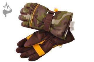 日栄産業 3670 キッズ 園児 5本指スキーグローブ スノーグローブ 手袋 子供用□GRN