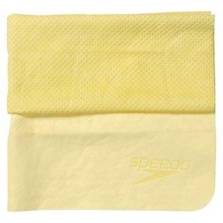 SPEEDO(スピード) SD96T01 スイム用セームタオルLサイズ(大) ハニカム構造で肌さわりソフト&吸水性抜群!