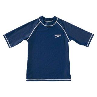 SPEEDO(スピード) SD65J15 子供用 ハーフスリーブ ラッシュガード 半袖 アクアシャツ
