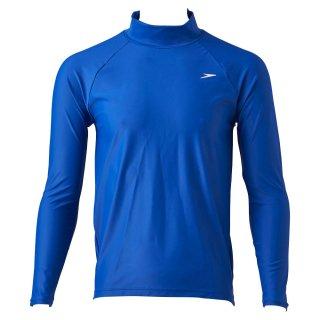 SPEEDO(スピード) SD87L95 メンズ ロングスリーブラッシュガード アクアトップス 長袖Tシャツ BL