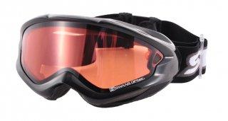 SWANS(スワンズ) 606DH 大人用 ピンク ダブルレンズ スノーゴーグル スキー スノーボード