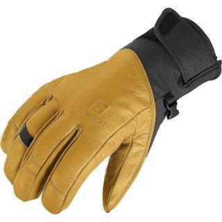 SALOMON(サロモン) L38292800 QST GTX M Black/Kangaroo スキー メンズ 手袋 グローブ