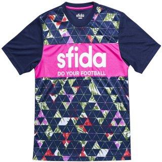 SFIDA(スフィーダ) SA18S03 昇華プリントプラクティスシャツ01 メンズ 半袖Tシャツ サッカー フットサル