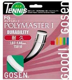GOSEN(ゴーセン) TS010 ゴーセン エフジーポリマスターI 硬式テニスガット