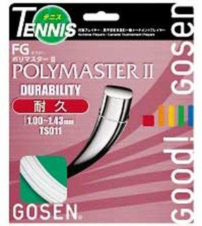 GOSEN(ゴーセン) TS011 ゴーセン エフジーポリマスターII 硬式テニスガット