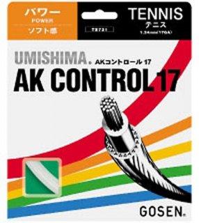 GOSEN(ゴーセン) TS721 ゴーセン ウミシマAKコントロール17 硬式テニスガット