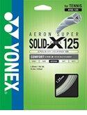 YONEX(ヨネックス) ATGS125 エアロスーパーソリッドクロス125 硬式テニス用ガット ホワイト