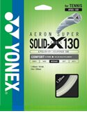 YONEX(ヨネックス) ATGS130 エアロスーパーソリッドクロス130 硬式テニス用ガット ホワイト