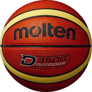 molten(モルテン) B6D3500 アウトドア用 バスケットボール