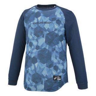 ASICS(アシックス) XB6622 メンズ バスケットボール ウェア GELBURST プリント長袖 Tシャツ