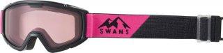 SWANS(スワンズ) 140-DH ジュニア ダブルピンクレンズ スノーゴーグル スキー スノーボード 子供用