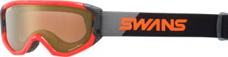 SWANS(スワンズ) 634-MPDH-PAF 偏光ミラーレンズ スノーゴーグル スキー スノーボード 大人用