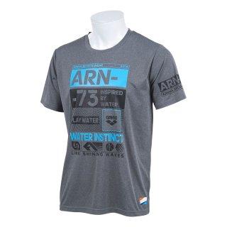ARENA(アリーナ) ASN-9441 メンズ ラッシュガード T-body ハーフスリーブ 半袖シャツ